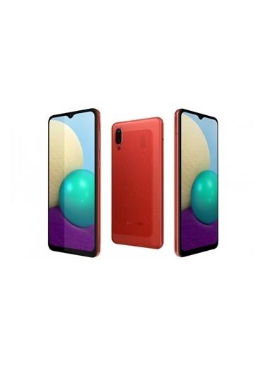 Samsung Galaxy A02 32GB Kırmızı Cep Telefonu (Samsung Türkiye Garantili) Kırmızı